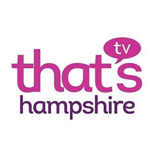 thats Hampshire TV logo baseball simulator